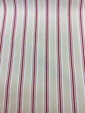 Fryetts Bay Stripe In Red 3.5 Metre Piece