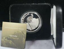 New Listing2010 Australia Kangaroo 999 Silver 1 oz Coin Box/Coa