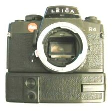 Leica R4 Single Lens Reflex Camera Body with Motor Winder in Working Condition