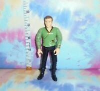 STAR TREK VINTAGE PLAYMATES - TOS CAPTAIN KIRK GREEN CASUAL ATTIRE FIGURE - ATM1