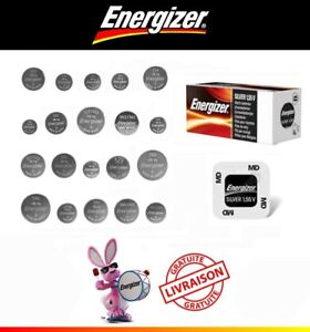 Pile pour montre Energizer 321 364 370 371 373 377 379 390 394 395 399 SR626SW