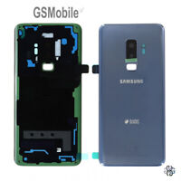 Tapa Trasera Battery Cover Lente Lens Azul Samsung Galaxy S9 Plus G965F ORIGINAL