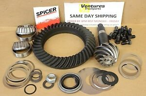 Dana 60 Ring And Pinion 4.10 Ratio Standard Cut Rotation New OEM Spicer
