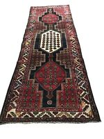 """Old Hand Knotted wool rug 1358 3'3""""x9'2"""""""
