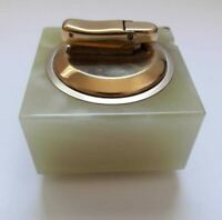 IBELO  VINTAGE MARBLE AUTOMATIC TABLE LIGHTER - GERMANY-VERY RARE