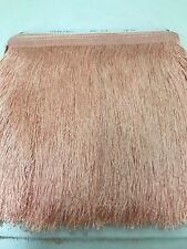 Rayon Cut Fringe Trim~ 300mm Apricot Colour 22 ~ Purchase by the Metre  Costumes