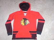 CHICAGO BLACKHAWKS fully sewn CCM Hockey Hoodie youth XL