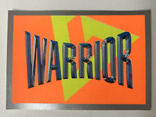 Merlin Collections 1992 Gladiators Sticker Number 45 Warrior