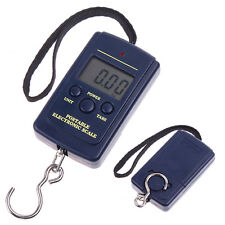40Kg 20g Precision Hanging Fishing Hook Luggage Digital Weighing Weight Scales #
