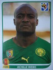 Panini 409 Achille Webo Kamerun FIFA WM 2010 Südafrika