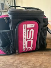 Isolator Fitness 6 Meal ISOBAG Meal Prep Management Bag. Preowned. Used Once.