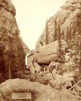 DEADWOOD MOUNTAINS, SOUTH DAKOTA 1891 11x14 SILVER HALIDE PHOTO PRINT