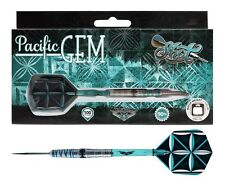 SHOT! Pacific Gem 24gm Steel Tip Darts 90% Tungsten Dart pgst-224 Center Weight