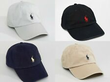 POLO RALPH LAUREN HAT BNWT ONE SIZE FITS ALL BASEBALL CAP SMALL PONY EMBROIDERED