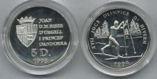 Andorra  1993  5 Diner  Winter Olympiade 1994    Silber  siehe Bild