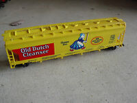 Vintage HO Scale Tyco Old Dutch Cleanser Covered Hopper Car