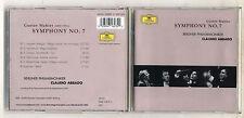 Cd Gustav MAHLER SYMPHONY No 7 Symphonie CLAUDIO ABBADO Deutsche Grammophon