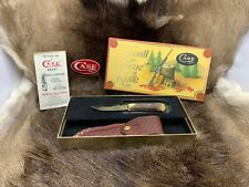 1984 Case XX Small Game Knife With Stag Handle Sheath Mint In Vintage Box Rare