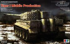 Char lourd Allemand TIGER I, 1942-1945 - KIT RYE FIELD MODEL 1/35 n° 5010