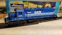 Athearn HO GATX leasing sd40-2 locomotive train engine powered unit customized