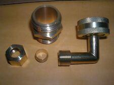 "BrassCraft HES-6-12WNMX 3/4"" Female Hose Thread Swivel Nut x 3/8"" O.D Dishwasher"