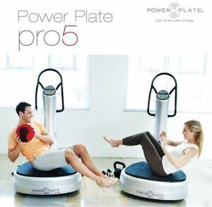 Power Plate Pro5 silber überholt und neu lackiert UVP 12.990€