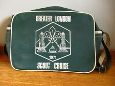 More details for vintage 1971 scout association greater london scout cruise should bag green