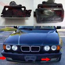 2x Front Left+Right Fog Lamp Light Cover Nobulb For BMW 5Series E34 525i 1988-96