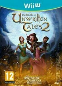 The Book of Unwritten Tales 2 German Box - But EFIGS IN GAME for Nintendo Wii U
