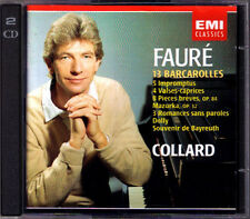 Jean-Philippe Collard: Faure Impromptus Dolly suite valses-Caprices Romances 2cd