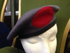 JOB LOT X 40 BERETS NEW WOOL ARMY GREY BERETS CAPS HATS BERET CADETS MIXED SIZE