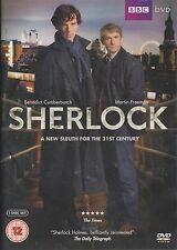 SHERLOCK - Series 1. Benedict Cumberbatch, Martin Freeman. BBC (2xDVD SET 2010)