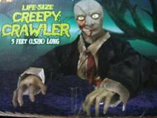 HUGE LIFESIZE CRAWLING ZOMBIE ANIMATED PROP NEW NEVER OPENED MUST HAVE