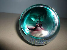 Caithness Slipstream Scotland Glass Art W43685 2000-01 Paper Weight Catalog p 21