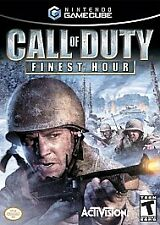 Call of Duty: Finest Hour (Nintendo GameCube) first person shooter war game wii