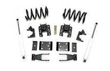 "2014+ Chevy Silverado V6 2""-4"" Drop Lowering Leveling Kit w/ rear shocks"
