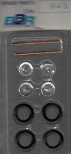 roues à rayons BBR 1/43e pour voitures années 50-55 référence R45