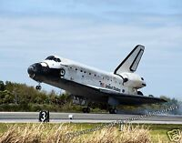 Photograph NASA Space Shuttle Discovery Landing STS-133 Mission Year 2011 8x10