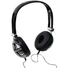 Marc Ecko Unlimited Impact Headphones w/Mic (BLACK) - Feel the Beat!