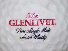 GLENLIVET (RED) SCOTCH WHISKY (BLACK) LOGO GOLF BALL