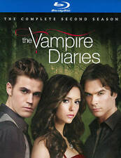 THE VAMPIRE DIARIES - THE COMPLETE SECOND SEASON - 4 - BLU-RAY DISCS - SLIPCOVER