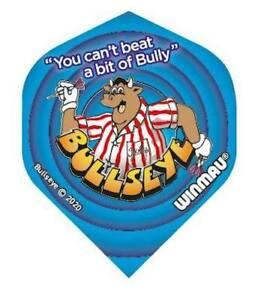 Bullseye TV Darts Show Bully Official Dart Flights by Winmau FREE P&P
