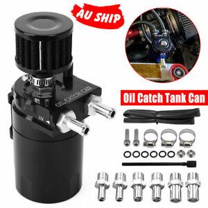 Oil Catch Can Tank Turbo Kit 300ml Petrol Diesel Reservoir Aluminum Lightweight