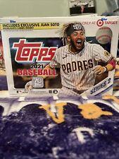 2021 Topps Series 2 Baseball Mega Box MLB 16 Packs Target Ohtani Trout Jordan