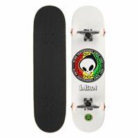 """Blind Skateboard Complete Rasta Reaper 8.125"""" White FP Pre-Assembled"""