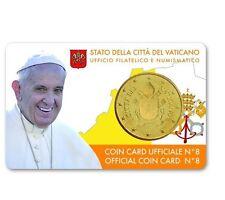 ** Coincard 2017 Vaticaan Vatikan Vatican Vaticano City Coincard No.8 50 cents**