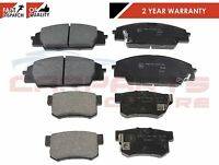 FOR HONDA CIVIC 2.0 TYPE R EP3 FRONT REAR QUALITY BRAKE PAD PADS SET 2001-2006