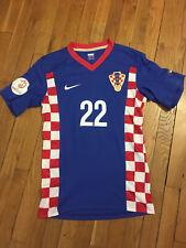 Maillot Croatie Croatia Kroatien Hrvatska Match worn Danijel Pranjic Euro 2008