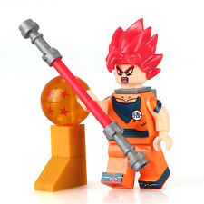 Dbz dragonball dragon ball z Anime Goku Custom Minifigures Mini Figure Fits LEGO