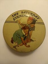 Saturday Evening Post Collector's Series 1 Norman Rockwell Tin Curtis Publishing
